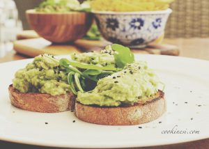 So simple so yummy! Avocado on toast passioncafe vegan passionibizahellip