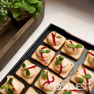 Salmon Mousse at its best with qimiq salmon and swisshellip