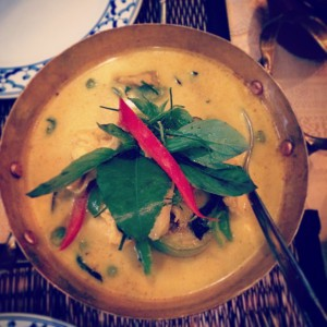 Thais definately know how to do a good curry! #thaifood…