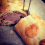 Filet im Teig mit Morcheln und Frischkäse