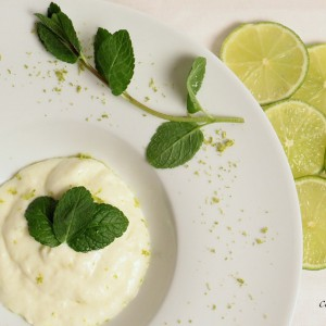 Lime creme with reduced fat and calories but with more…