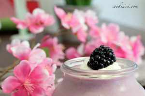 Super quick Blackberry Mousse 5 minutes  done! blackberry brombeerenhellip