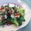 Babyspinat-Ziegenkäse-Granatapfel Salat