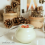 Weisses Schokolade-Granatapfel Mousse