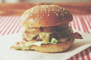 Mmmmhhh! Beef Burger filled with caramelized pickled cabbage apple mustardhellip