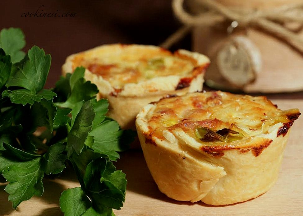 cookinesi mini quiche lorraine. Black Bedroom Furniture Sets. Home Design Ideas