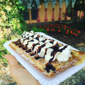 Best thing at europaparkofficial  waffles!! My favourite ones arehellip