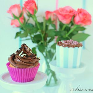 Oldie but goldiejoghurt cupcakes with QimiQchocolate topping for recipe gthellip