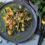 Bohnensalat mit Bratkartoffeln & Speck an Mandelpesto