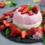 Erdbeer-Joghurt Panna Cotta
