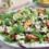 Sommersalat mit gegrillten Nektarinen an Basilikum-Dressing