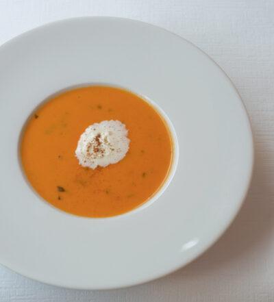 Tomaten-Orangen Suppe