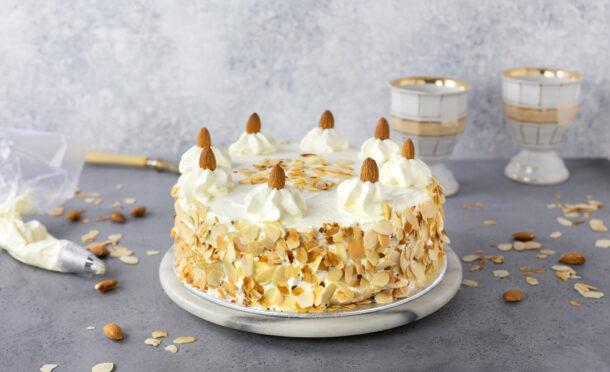 Mandelcrème-Torte