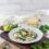 Spinat-Risotto mit Champignons