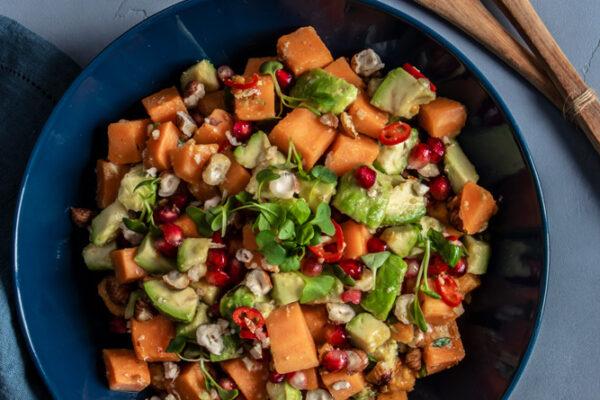 Avocado-Süsskartoffel Salat