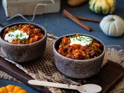Kürbis-Chili sin Carne